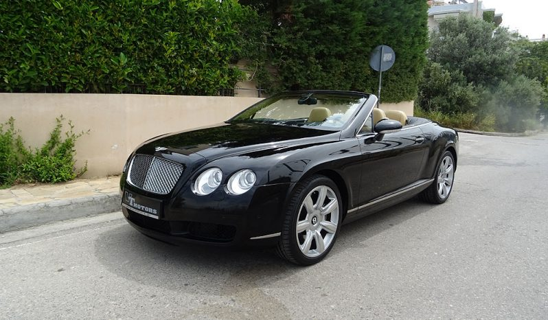 BENTLEY CONTINENTAL GTG CABRIO 6.0 W12 SOFT CLOSE full