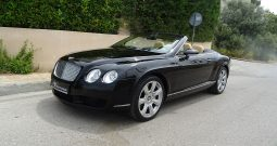 BENTLEY CONTINENTAL GTG CABRIO 6.0 W12 SOFT CLOSE